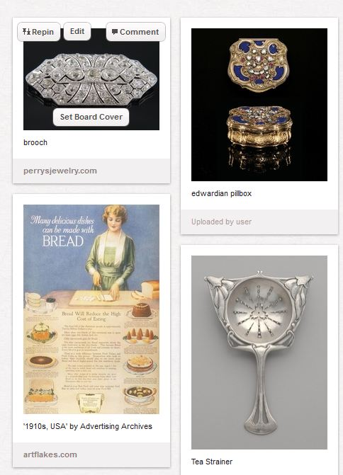 Suddenly very into Edwardian jewelry. Can that be a hobby?