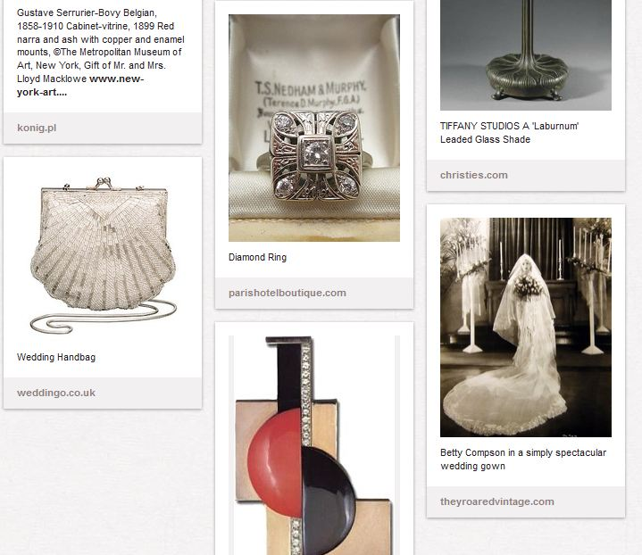 Various beautiful objects for a beautiful object. Wharton really casts a cloud over everything. Especially marriage!