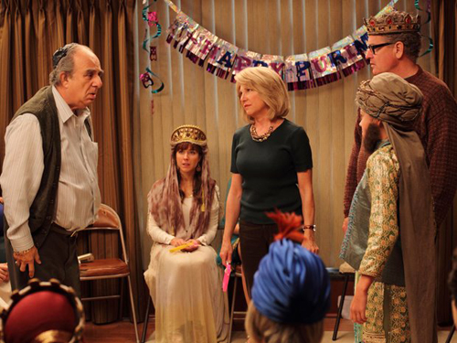 Dealing with a regret from a teen Purim pageant. Such a TV drama cliché.