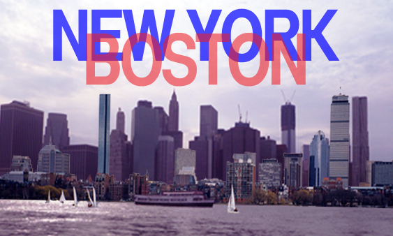 There's not a lot of love between New York and Boston, but there plenty of similarities.