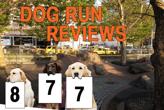The city's dog runs, reviewed, one gravel pile at a time. This week: Chelsea Waterside Park.