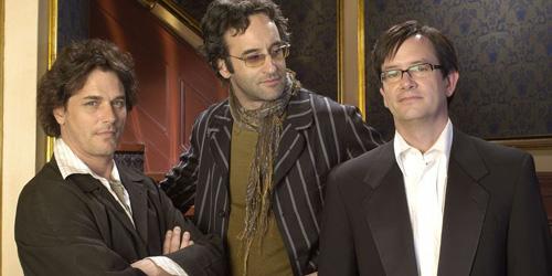 Gross as Tennant, Don McKellar as pretentious nightmare Darren Nichols, McKinney as festival director Richard Smith-Jones.