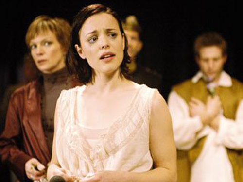 Before she was a  Mean Girl , she was the subject of much cruelty (Ophelia, in season one's  Hamlet ).