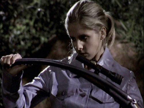 Silver bullets work (when Buffy isn't around).