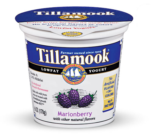 Marionberry yogurt: delicious, but not as addictive as you'd think.