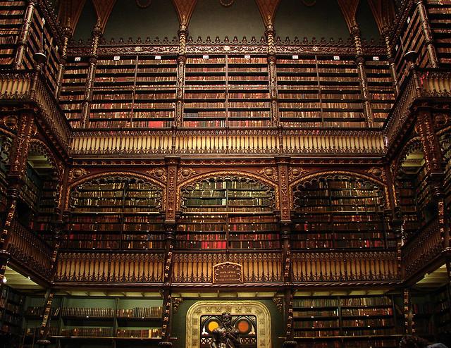The Royal Portuguese Reading Room; Rio de Janeiro, Brazil.