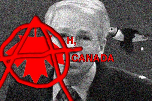 Politicians in American sling dirt, but never guano. In the 2008 Canadian election, the Conservatives did just that.