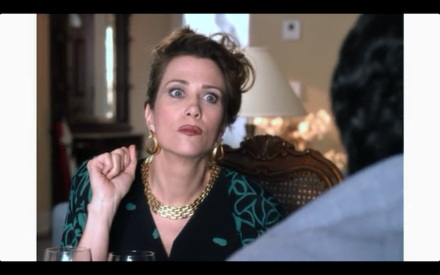 Kristen Wiig as Lucille Bluth, circa 1982.