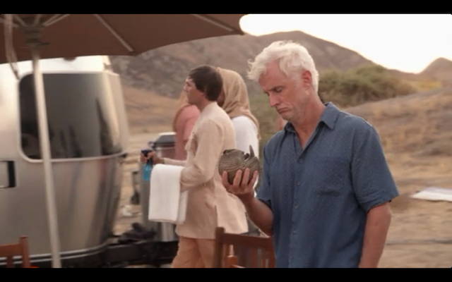 John Slattery as Dr. Norman, the disgraced anesthesiologist.