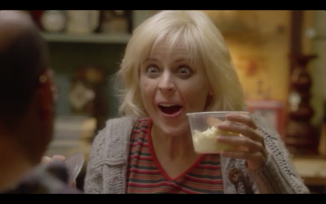 Maria Bamford as DeBrie Bardeaux, B-movie actress turned junkie/butter enthusiast.