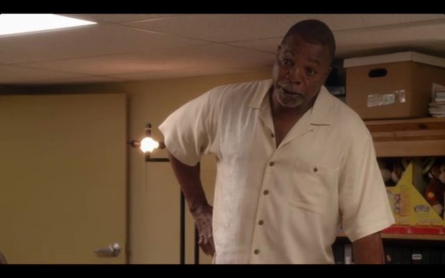 Carl Weathers as Carl Weathers! Again!