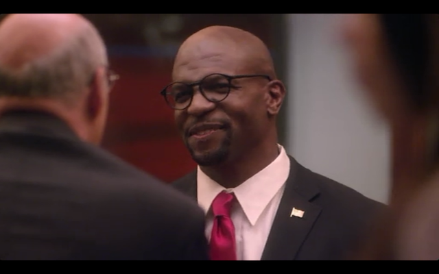 Terry Crews as Herbert Love, the black birther and redhead fetishist.