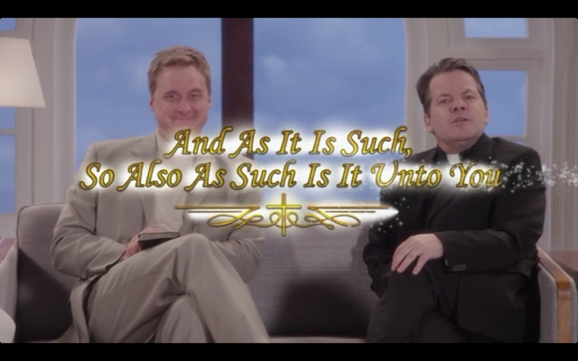 Alan Tudyk as Pastor Veal/Anne's dad, and  Kids in the Hall' sBruce McCullough as Father Marsala.