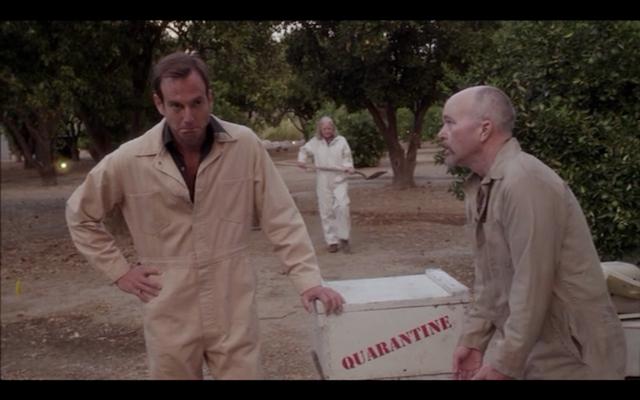 Clint Howard as Johnny Bark (pre-mortem).