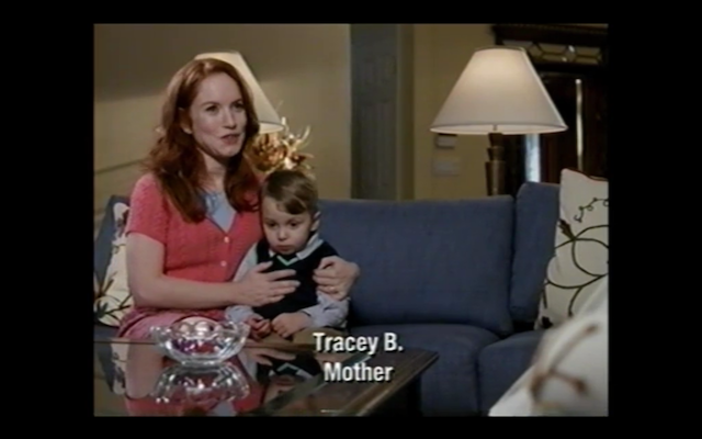 Maria Thayer (Kenneth's blind girlfriend on 30 Rock) as the deceased Tracey Bluth (another redhead).