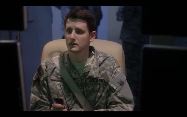 Zach Woods as Buster's drone-buddy.