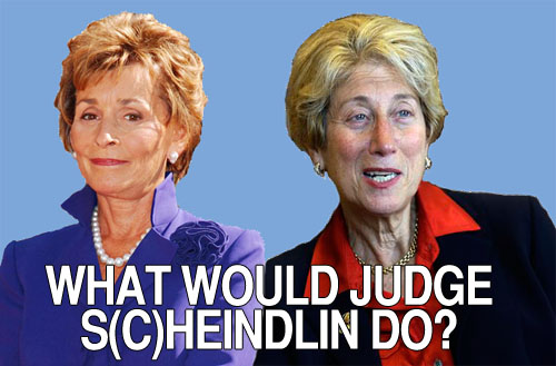 """When it comes to TV's Judge Judith Sheindlin, who won't stop until she hears the truth, and NYC Federal Judge Shira Scheindlin, who's about to determine the fate of """"Stop-and-Frisk,"""" there's more in common than their similar last names."""