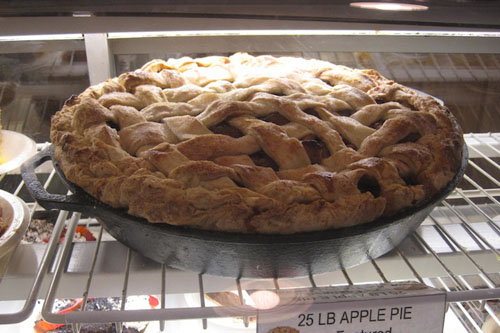 This is a pie from Dollywood. Kids need to read...this label, as well as articles about obesity, so they don't get diabetes.