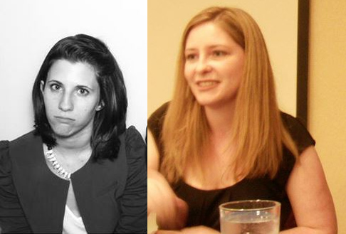 Rachel Vincent and Rachel Vincent (Credit: left: author's own; right: Flickr user  terryballard , used with Creative Commons)