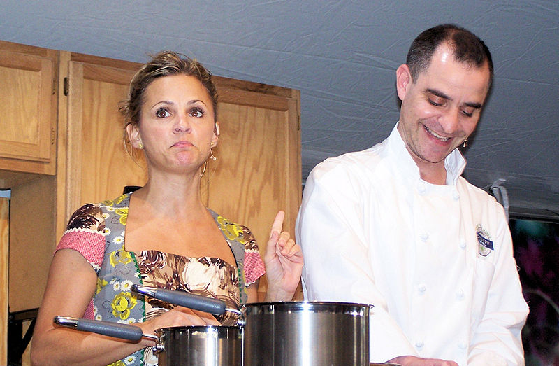 Amy Sedaris and David Rakoff at the Austin Book Festival (Credit: Photo by  Larry D. Moore , used with Creative Commons license)