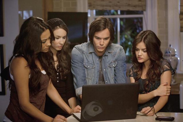 A still from the television show   Pretty Little Liars