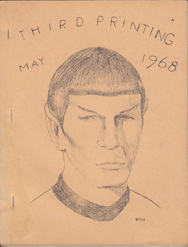 Cover of  Spockanalia  issue one, third printing
