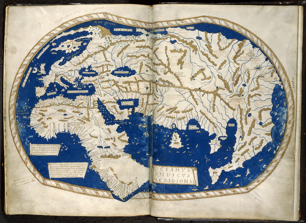 World map from 1488