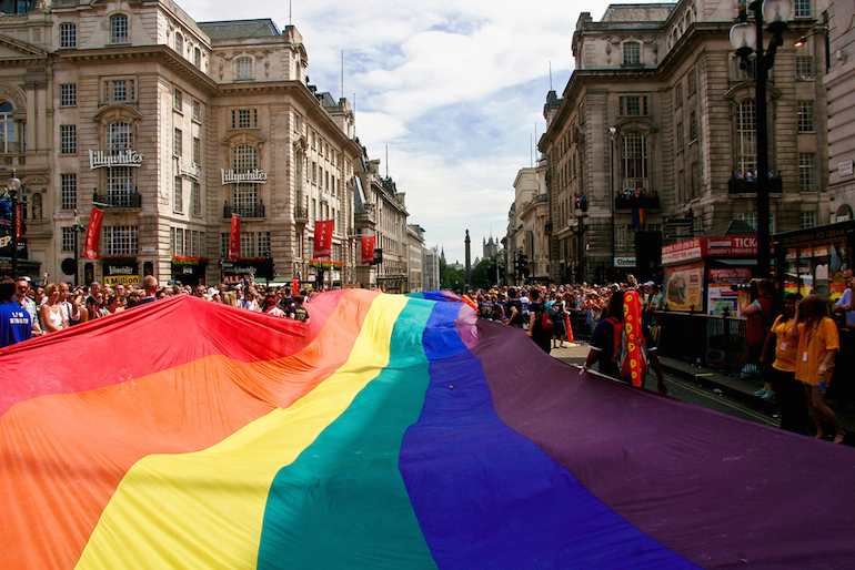 London Pride Parade, 2009 (via  Flickr )