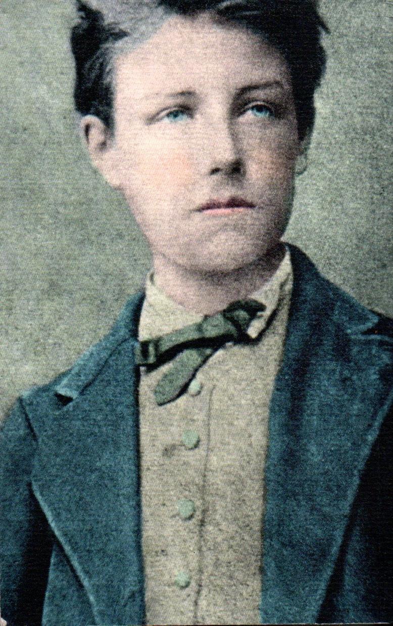 Jean Nicolas Arthur Rimbaud age 17, likely in December 1871 (via   El Espectador  )