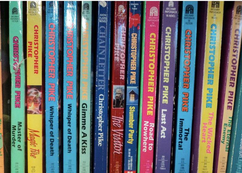 Christopher Pike books (via  Discard Treasures )
