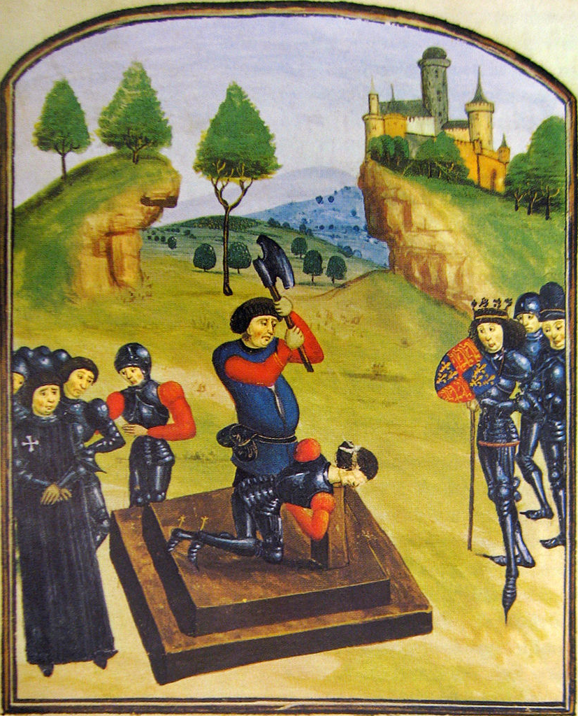 Illustration from a late 15th century Ghent manuscript (via  Wikimedia )
