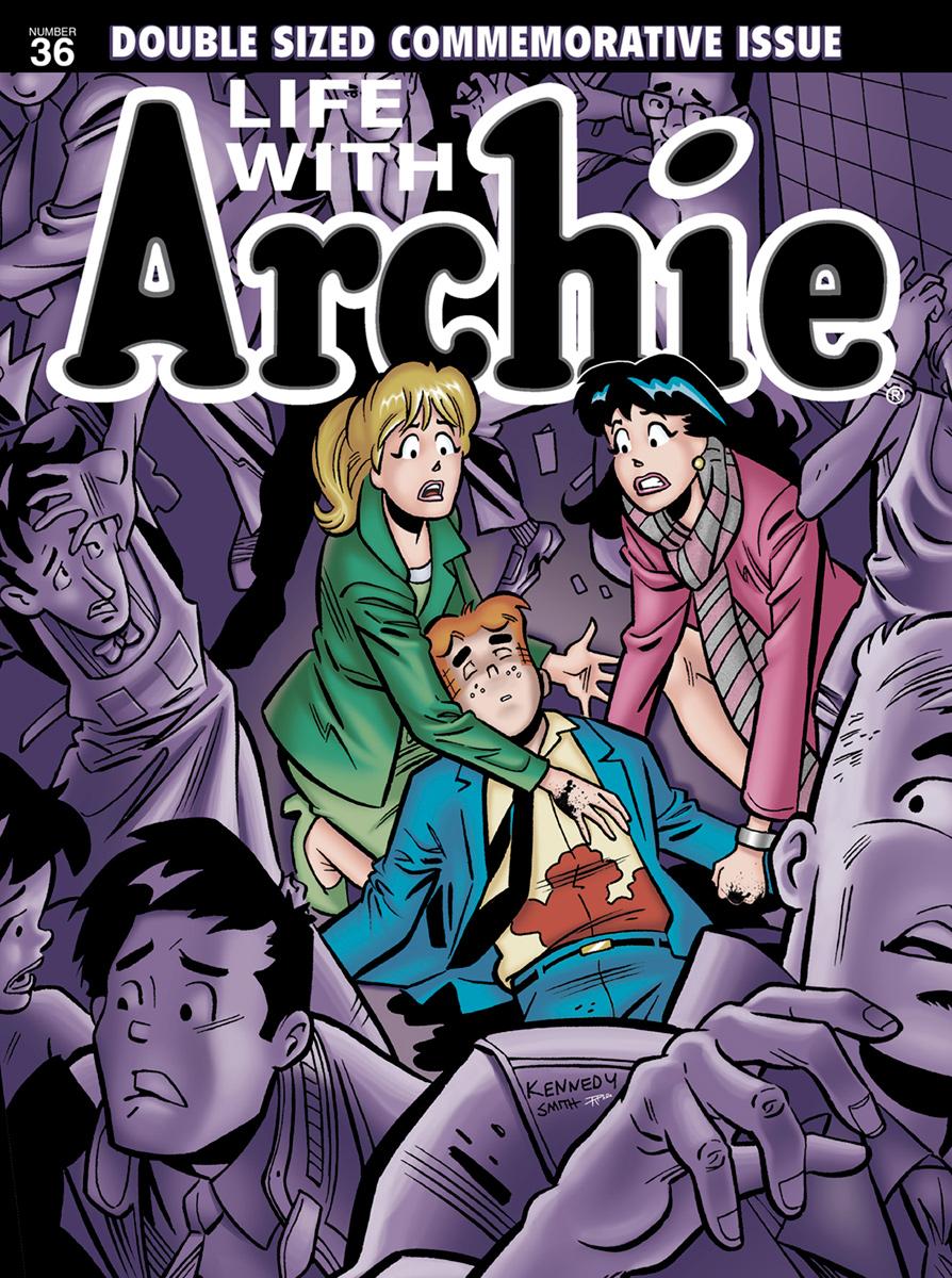 Life with Archie  No. 36 (via  Archie Comics )
