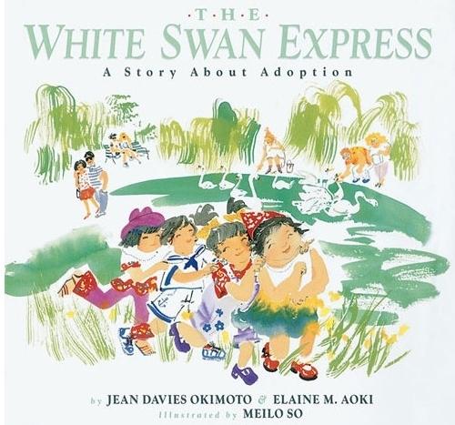 The White Swan Express  by Jean Davies Okimoto and Elaine M. Aoki (via  Grand River Toys )