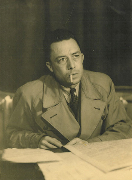 Albert Camus (via    Wikimedia Commons   )