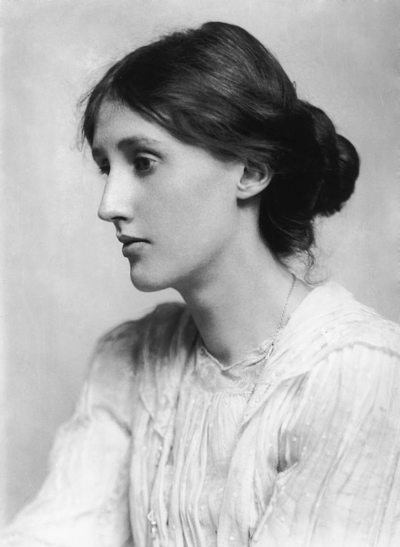 Virginia Woolf (via    Wikimedia Commons   )