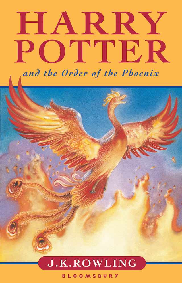 Harry Potter and the Order of the Phoenix   (via    Mrss Library   )