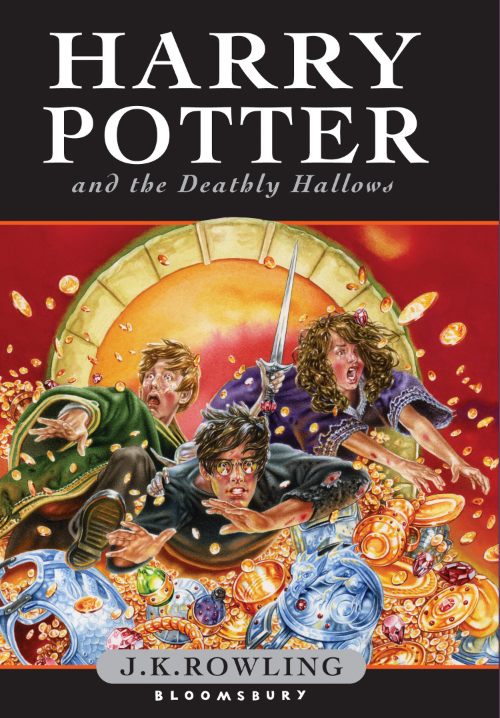 Harry Potter and     the Deathly Hallows   (via    Harry Potter Fan Zone   )
