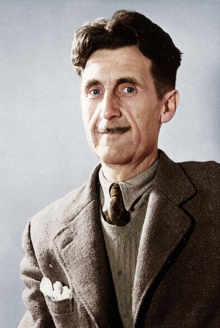 George Orwell (via    Deviant Art   )