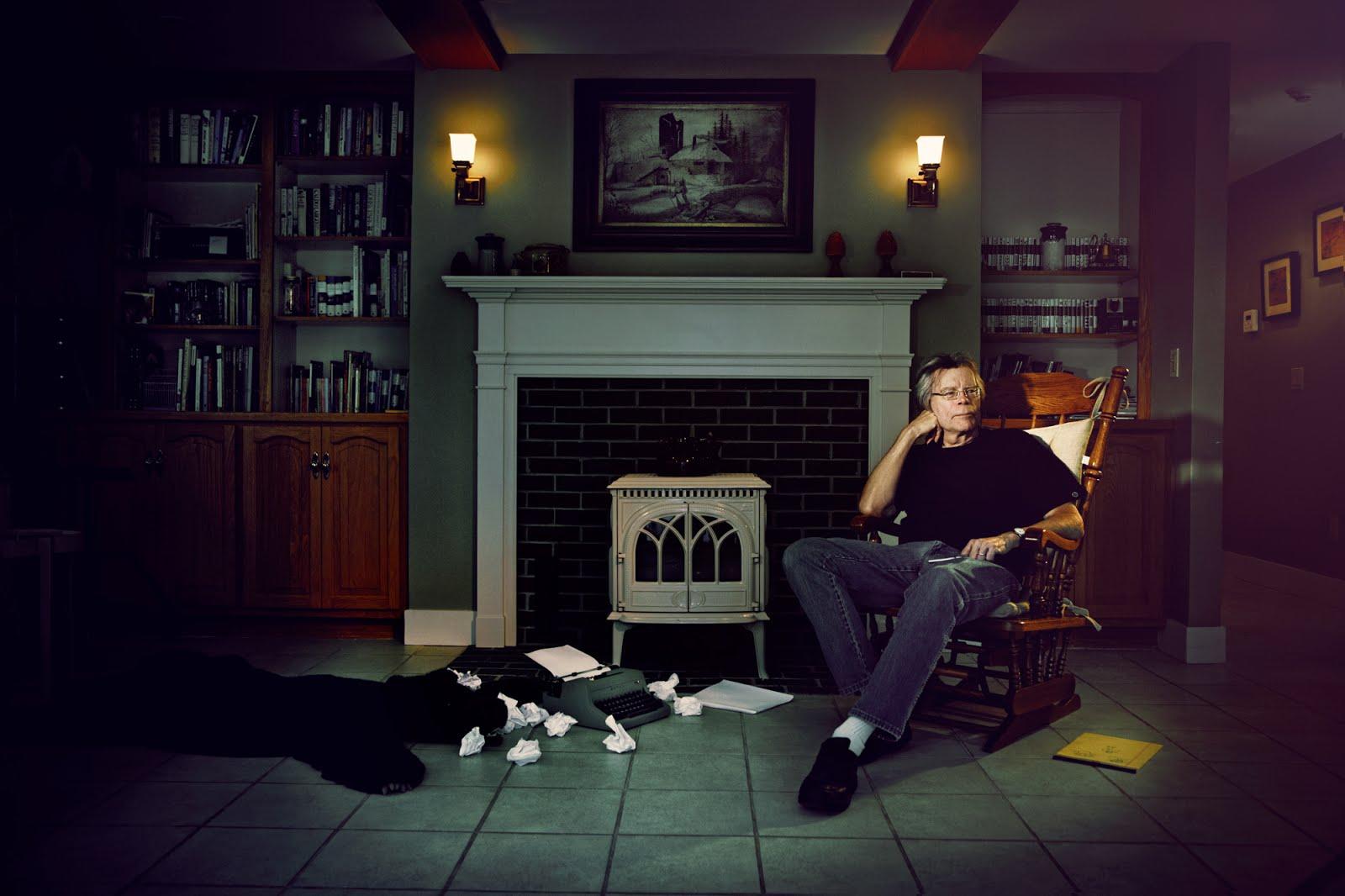 Stephen King (via    Steve Schofield   )