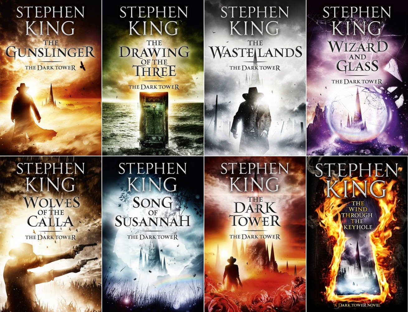 The   Dark Tower   series by Stephen King (via    The Fire Wire   )