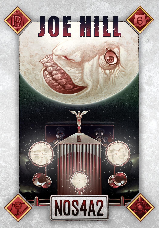 NOS4A2   by Joe Hill (via    Subterranean Press   )