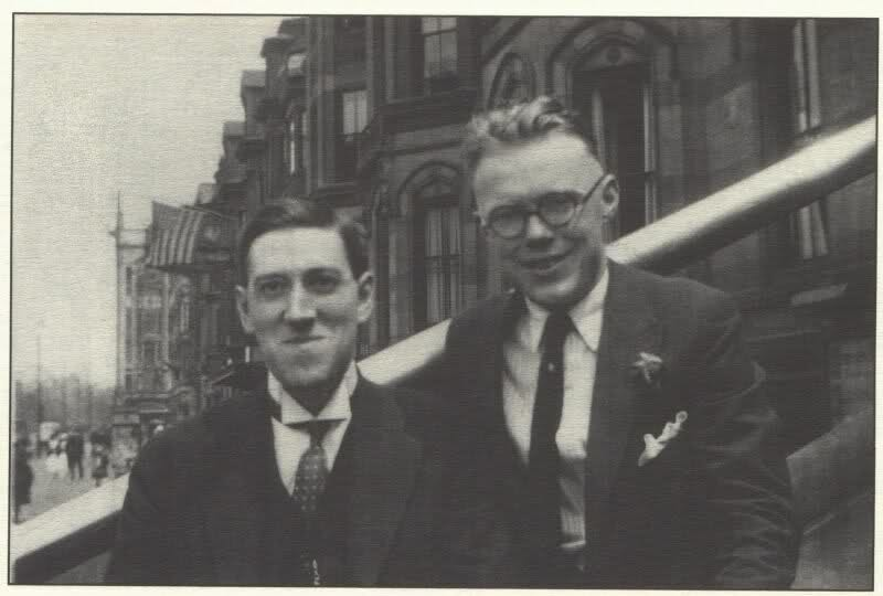 H. P. Lovecraft and William J. Dowdell (via    H. P. Lovecraft Literary Podcast   )