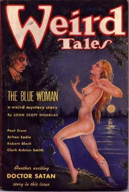 "Weird Tales   from September 1935, which included Bloch's ""The Shambler from the Stars"" (via    Blastr   )"