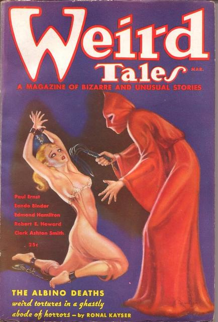 "Weird Tales   from March 1936, which included Kuttner's ""The Graveyard Rats"" (via    Wikisource   )"