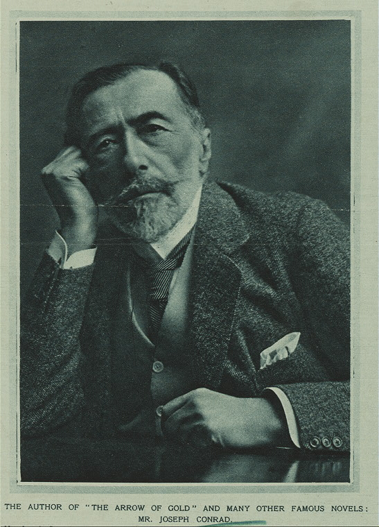 Joseph Conrad (via    Wikimedia Commons   )