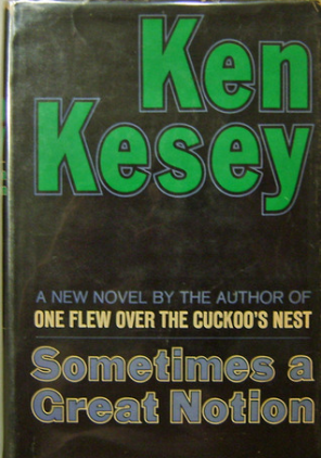 First edition cover of   Sometimes a Great Notion   (via      GoodRead  s   )