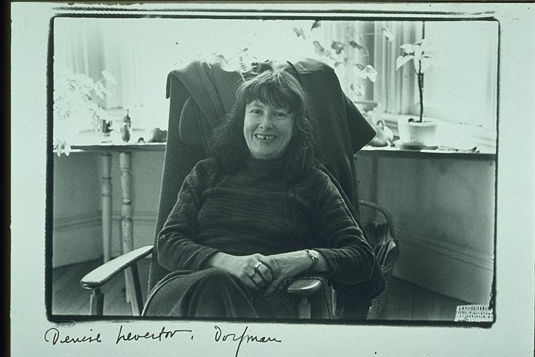 Denise Levertov (via    Wikimedia Commons   )