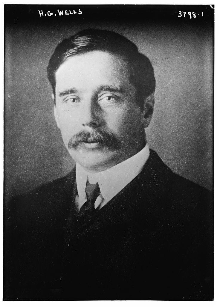 Wells, circa 1915 (via    Flickr   )