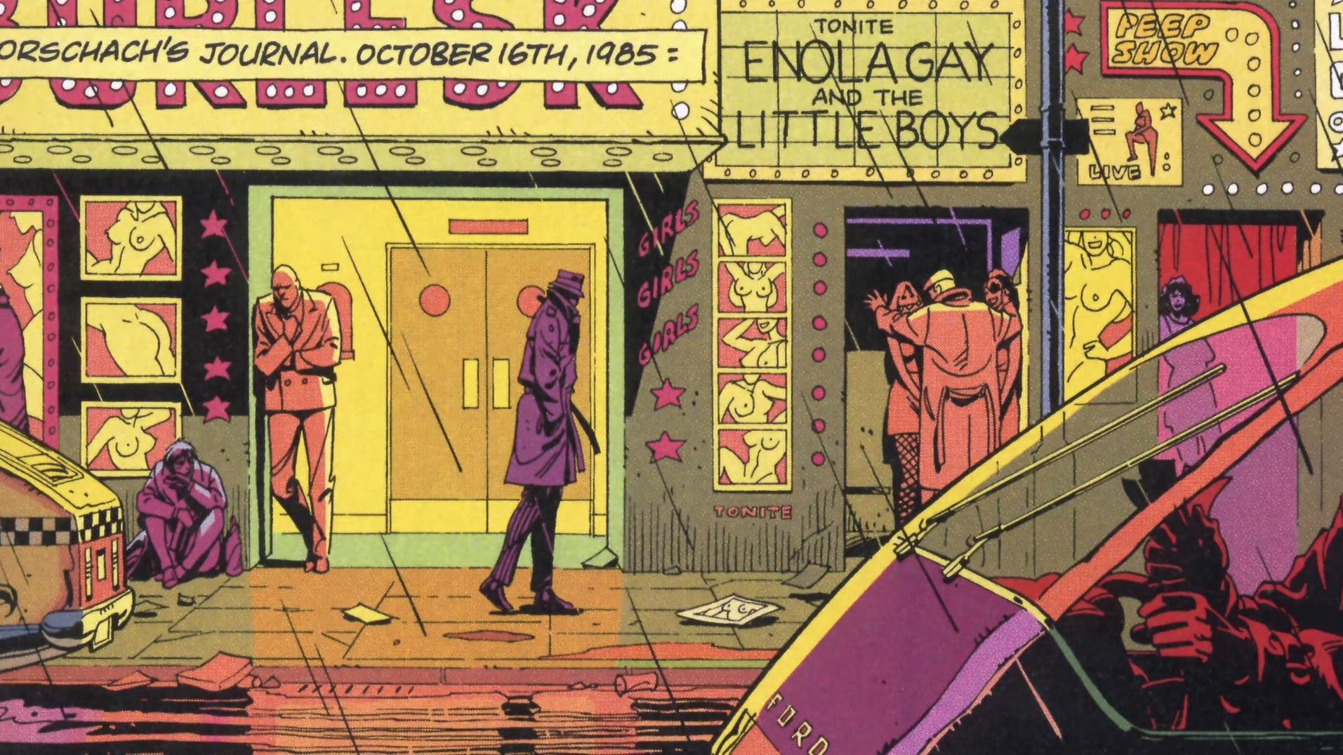 Panel from   Watchmen   (via      Blog de Superheroe  s   )