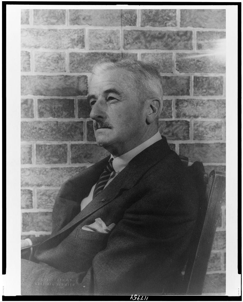 William Faulkner (via    Wikimedia Commons   )